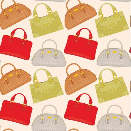 womens': Seamless bags pattern