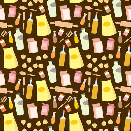 home products: Seamless products pattern