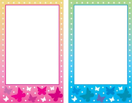 Baby photo frame. Stock Vector - 12189939