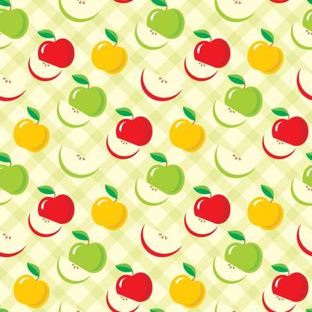 Zökkenőmentes alma minta