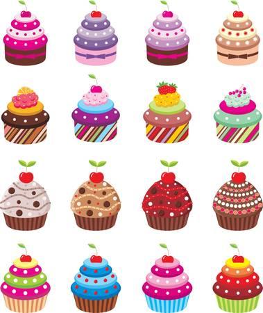 Cupcakes Stock Vector - 12622779