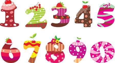 fudge: Sweet numbers Illustration