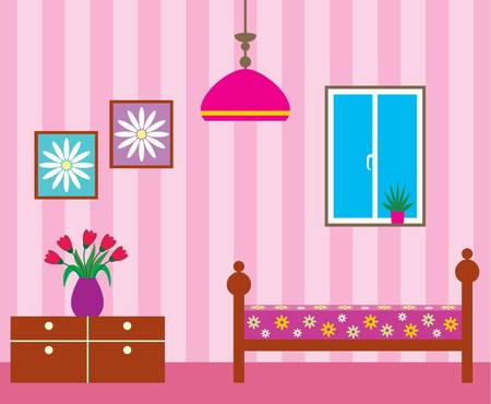 43261 Living Room Cliparts Stock Vector And Royalty Free