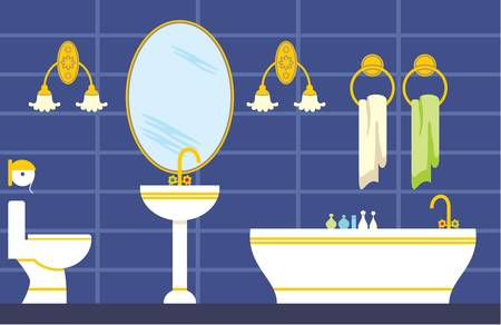 Bathroom Illustration