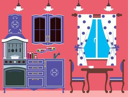 regiments: Kitchen furniture  Interior