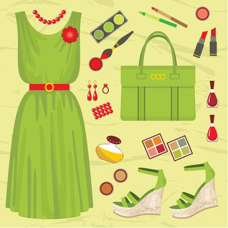 Fashion set Stock Vector - 14601983