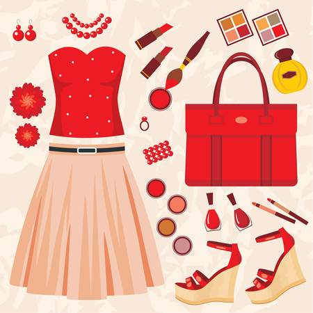 Fashion set Stock Vector - 14601982