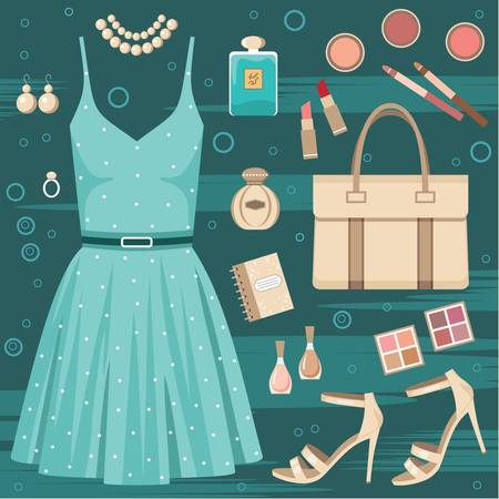 Fashion set Stock Vector - 14601979