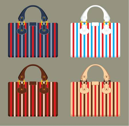 brown leather: Female bags