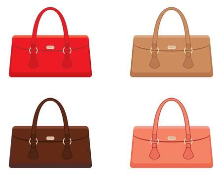 Female bags Stock Vector - 14891139