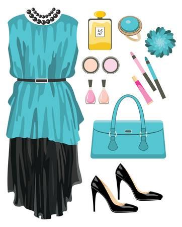 Fashion set Stock Vector - 14891138