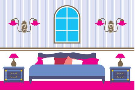 Bedroom Vector
