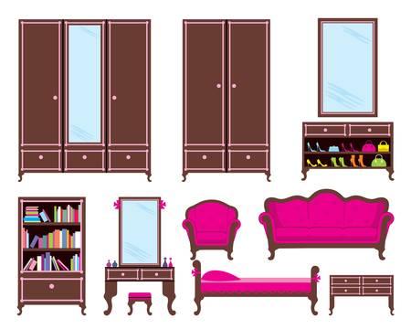 flower bed: Set of furniture