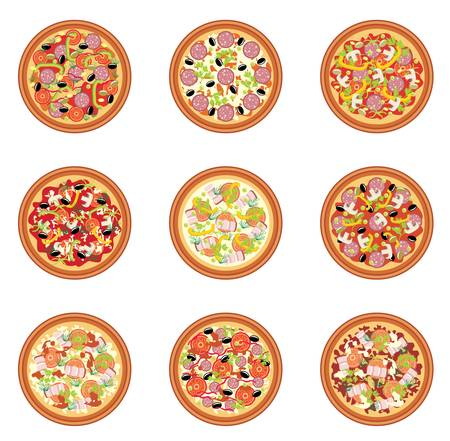 perejil: Pizza set