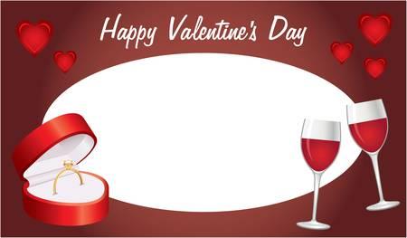 Tarjeta de San Valent�n s Day