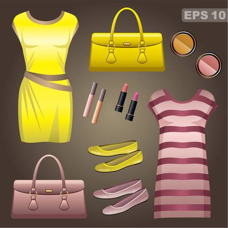 casual dress: Fashion set