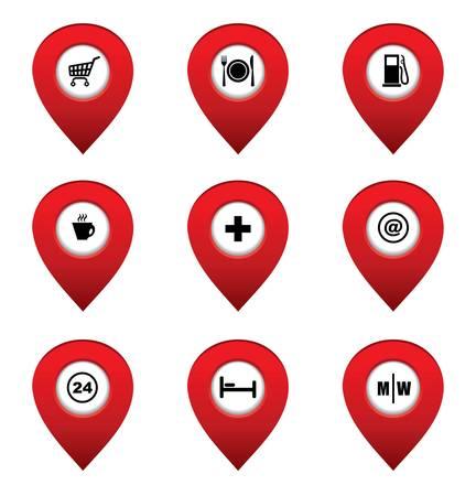 jelzÅ: Állítsa be a térkép mutatók