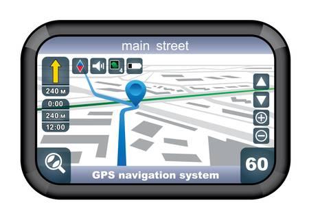 GPS navigator Stock Vector - 21458106