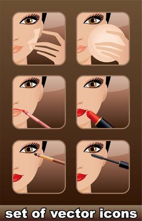 ic�nes de maquillage