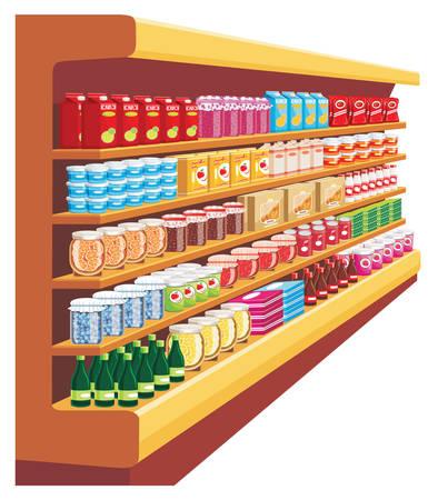 Supermarket. vector Vector