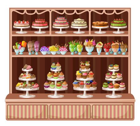 Afbeelding van een winkel snoep en bakkerij.