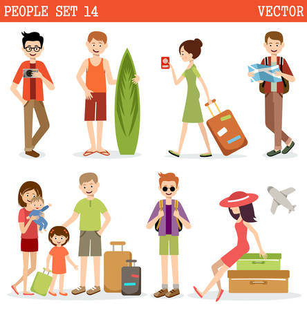 People go to holiday, travel.