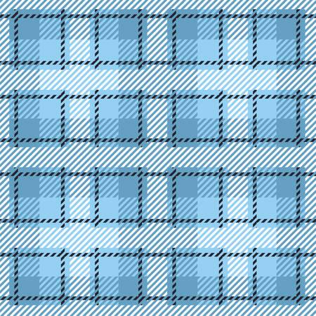 whiteblue: Tartan seamless vector patterns in white-blue colors