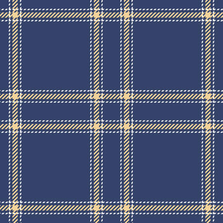 patterns and colors: Tartan seamless vector patterns in blue-yellow colors