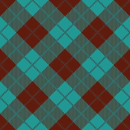 celtic: A Tartan seamless vector patterns in brown and blue colors