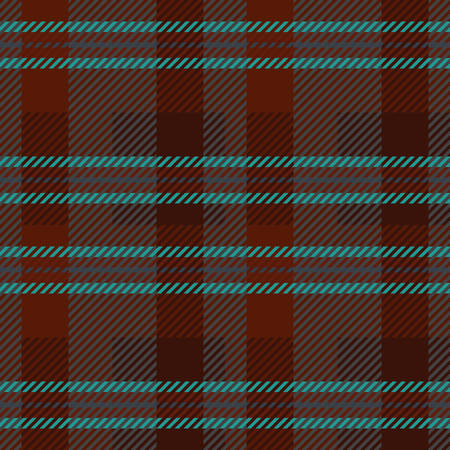Eine Tartan nahtlose Vektor-Muster in braunen und blauen Farben Standard-Bild - 78534267