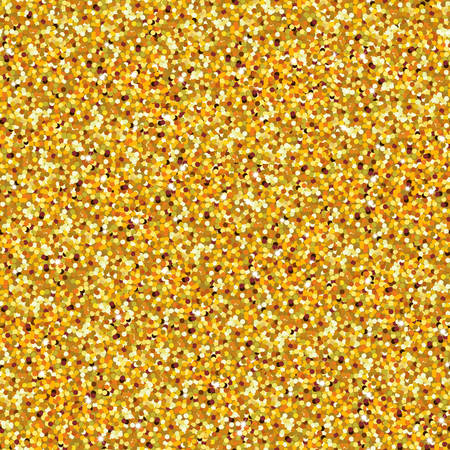 Gouden glitter mousserende naadloze patroon. Vector illustratie