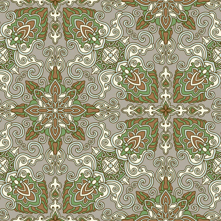 scrollwork: Decorative seamless pattern