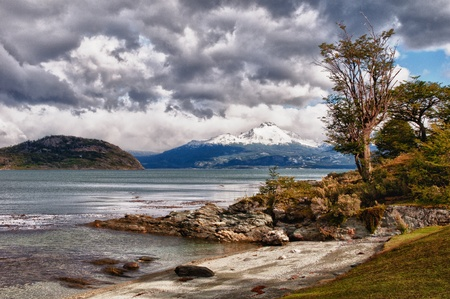 tierra: view from the Tierra del Fuego National Park