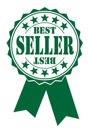 seller: best seller icon on white