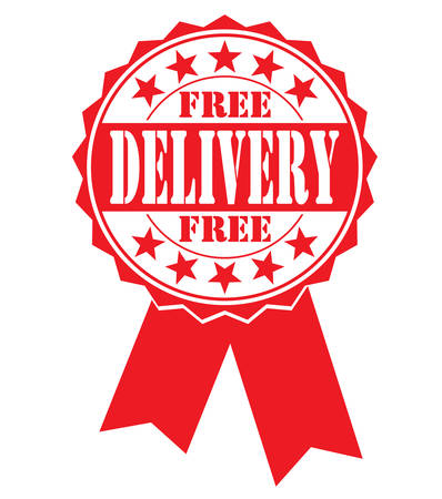 hallmark: free delivery icon on white