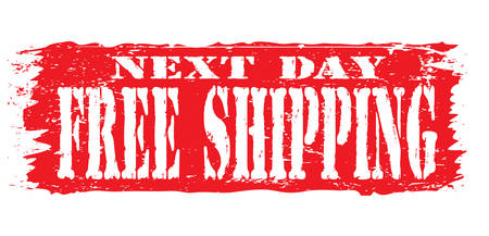 ratified: next day shipping stamp