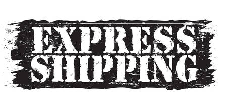 permission granted: express shipping stamp