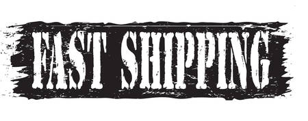 fast shipping: fast shipping stamp
