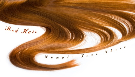 Beautiful shiny healthy hair texture photo