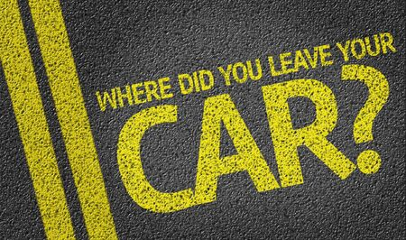 Where Do You Leave Your Car on tar road