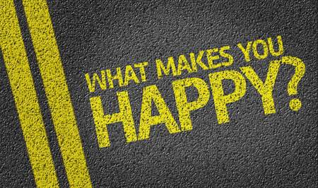 What Makes You Happy on tar road