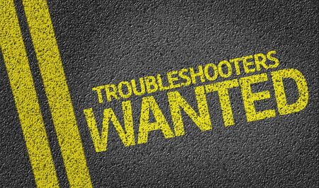 solver: Troubleshooters Wanted on tar road