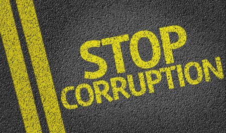 Stop corruption on tar road