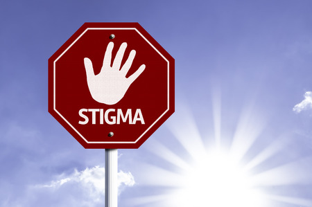 flaw: Stigma written on the road sign