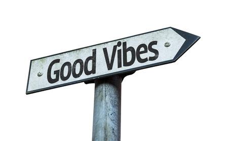 positivismo: Buen rollo firman en el fondo blanco