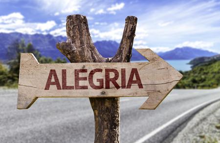 algeria: Algeria sign with arrow on road background