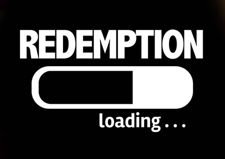 redemption: Progress bar loading with the text Redemption