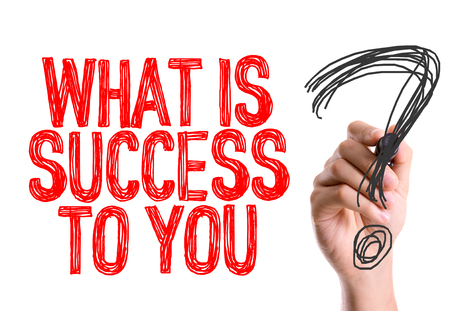 definition define: What is success to you? written with a marker pen
