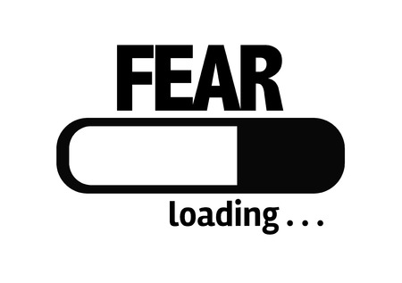 fear: Progress bar loading with the text Fear