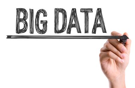 meta analysis: Big data written with a marker pen